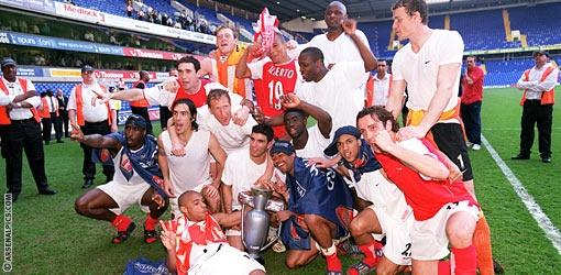 We won the league at White Hart Lane!