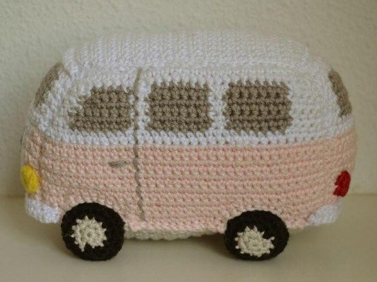 Volkswagen Van – Make Your Child Crochet Toy