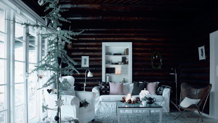 Bolig: Jul i det gamle bjælkehus