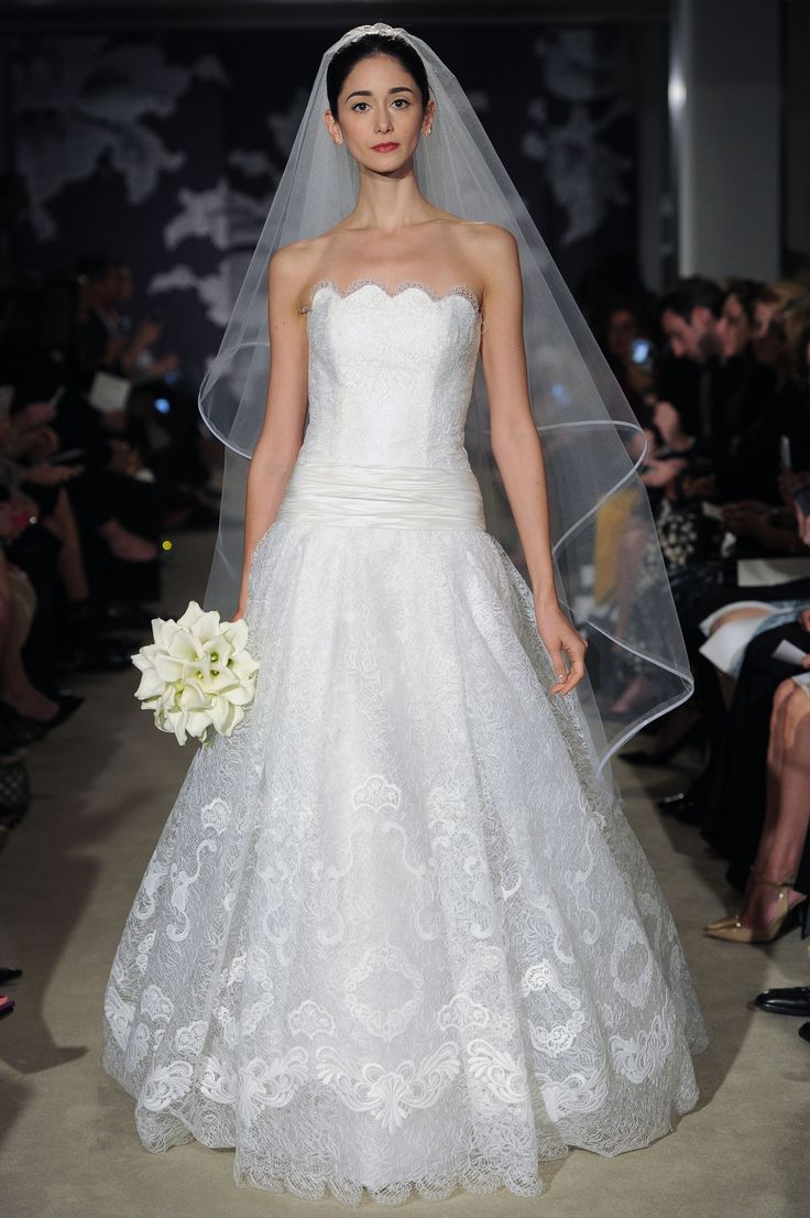 The Corra Gown #CarolinaHerrera #Bridalspring2015