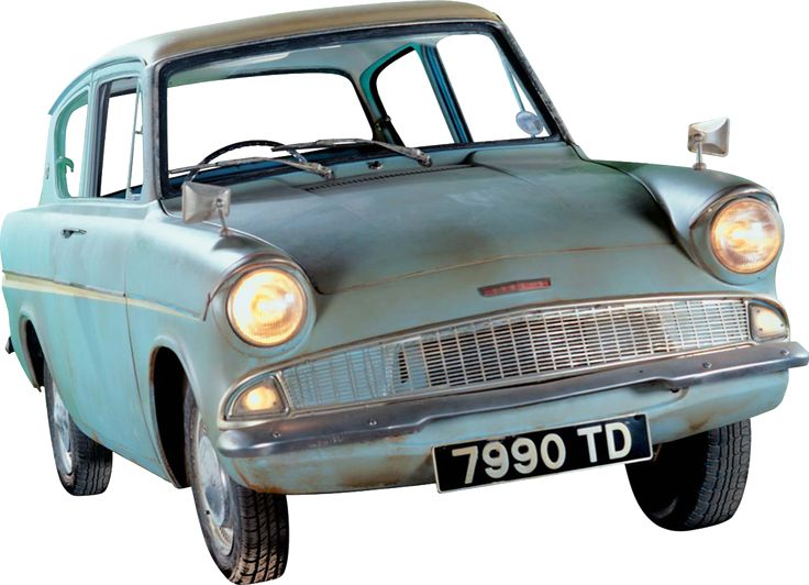 Poster of the Flying Ford Anglia to post on the skyline wall.