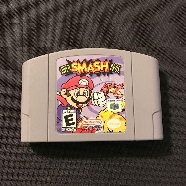 Super Smash Bros. (Nintendo 64, 1999) 45496870461 | eBay