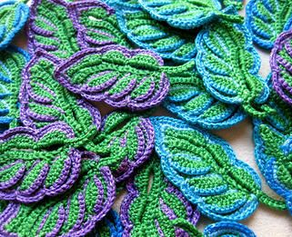 Classical motifs of traditional Irish Crochet and new modern designs #crochet