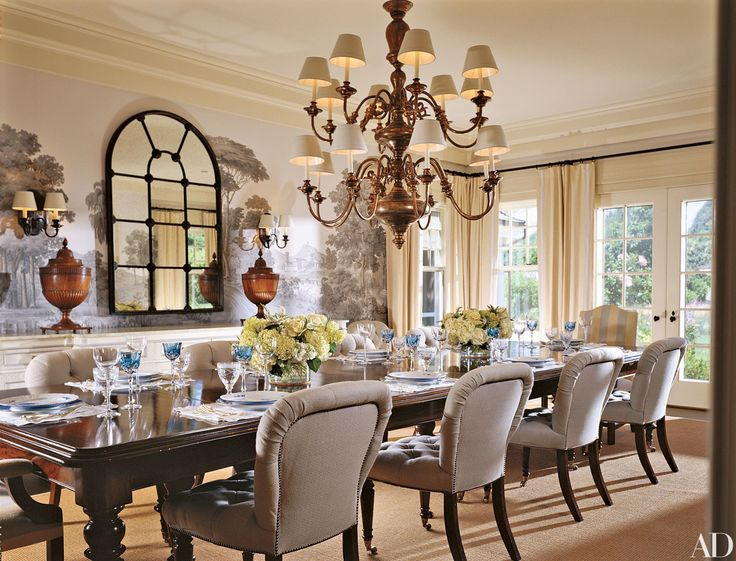 Large Dining Room Chairs best 25+ large dining room table ideas on pinterest | paint wood