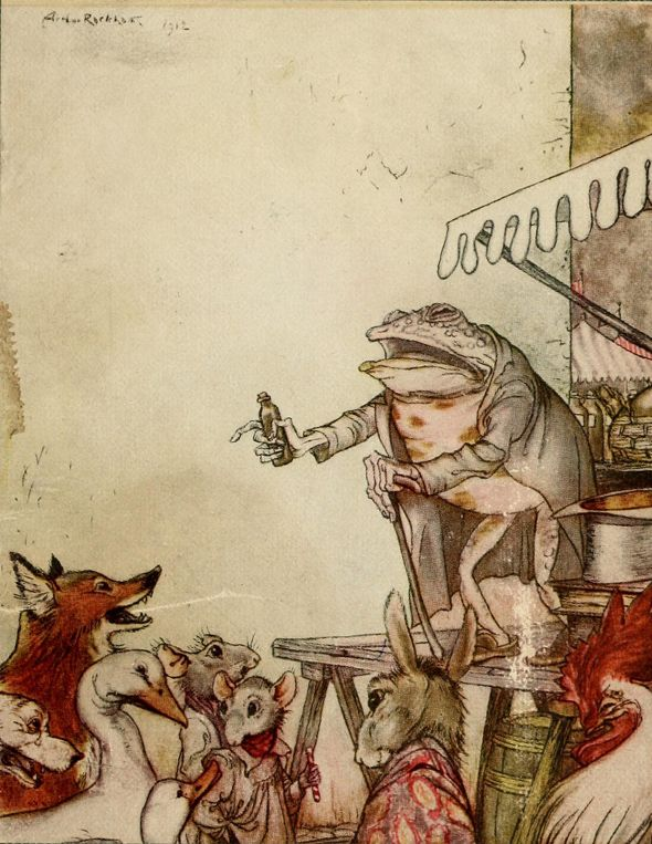 The Wind in the Willows by Kenneth Graham Illustrations by Arthur Rackham                                                                                                                                                      More