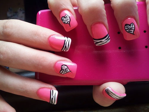 62 best Valentine's Day Nails images on Pinterest ...