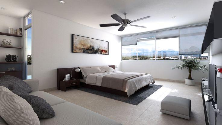 Habitación - Recámara - Bedrooms - Rooms - Departamento - EVA3D
