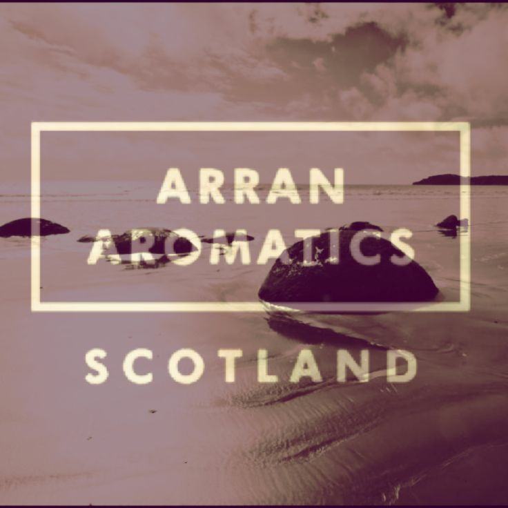 Arran Aromatics - continuing with the use of local products throughout the spa