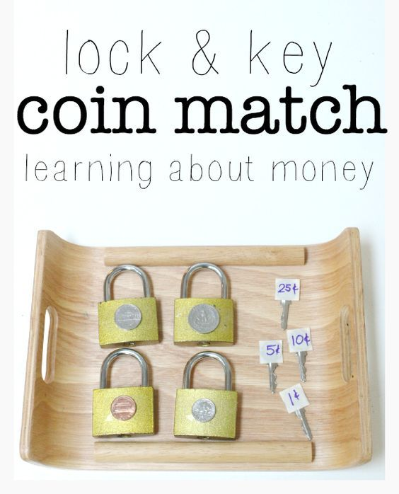 Learn about money and how much each coin is worth with this fun hands-on math activity. Great for kindergarten and preschool math centers.