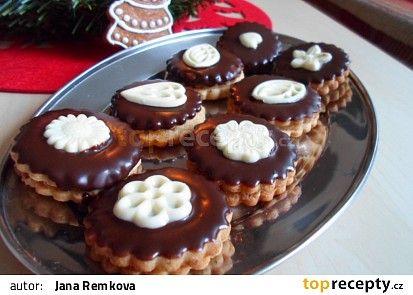 Ořechové dortíčky recept - TopRecepty.cz