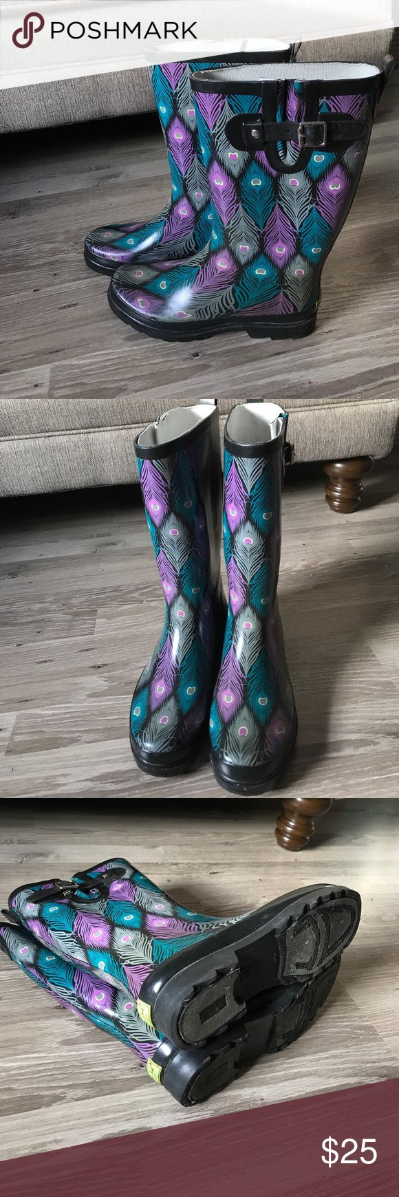 Western Chief Rain Boots Womens Size 8 In great condition! Check out my other listings, bundle and save! Western Chief Shoes Winter & Rain Boots