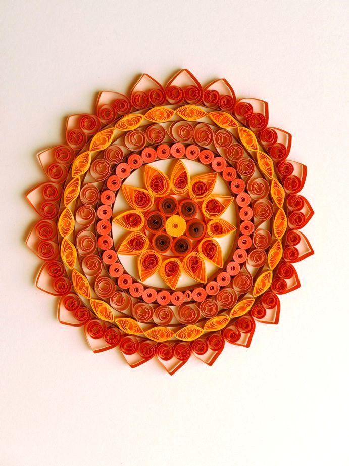 Mandala #1 by Barbora Valtr
