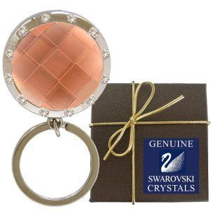 Chatt Amber & Swarovski PP24 Crystal LED Key Chain in Gift Box Chatt. $9.98