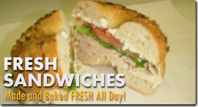 New York Style Bagel's made fresh right here in San Antonio
