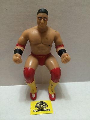 (TAS004048) - WWE WWF WCW Wrestling Thumb Wrestler Figure - Ken Shamrock