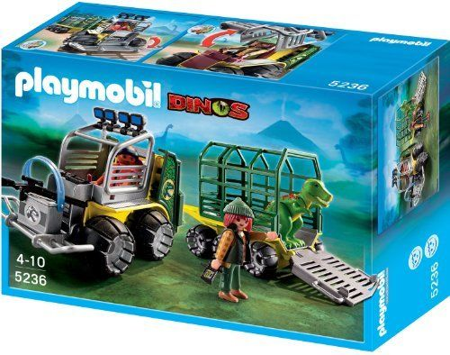 Playmobil and dinosaurs a perfect mix