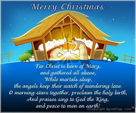Dgreetings - Christmas Carol Card