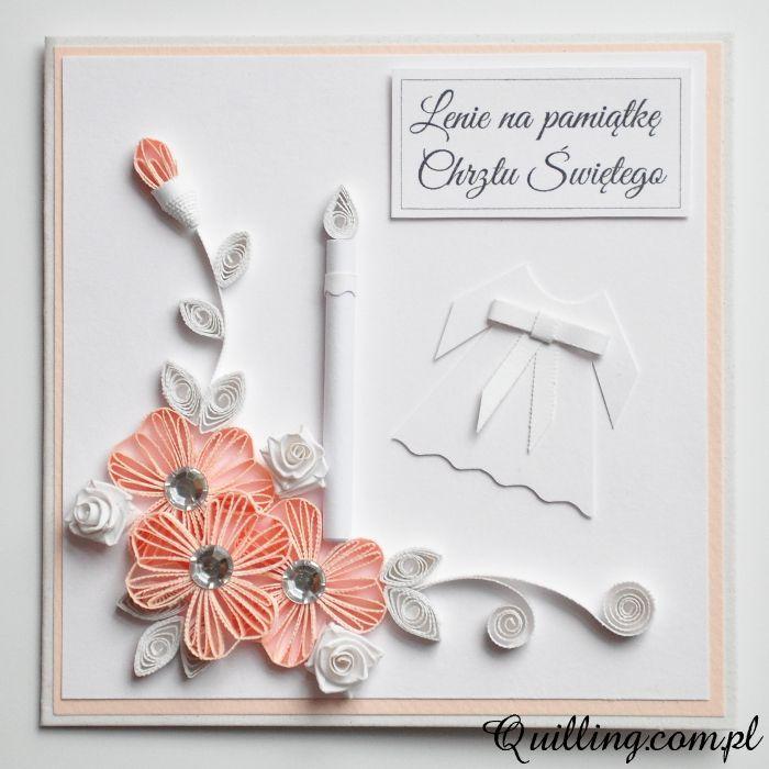 Dla Lenki - quilling, greeting card, handmade card