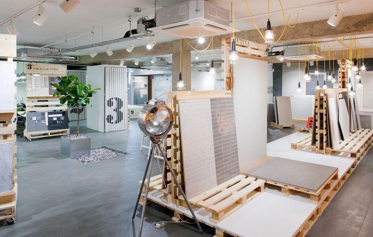 17 best images about tile showroom on pinterest hard at - Interior design tiles showroom ...