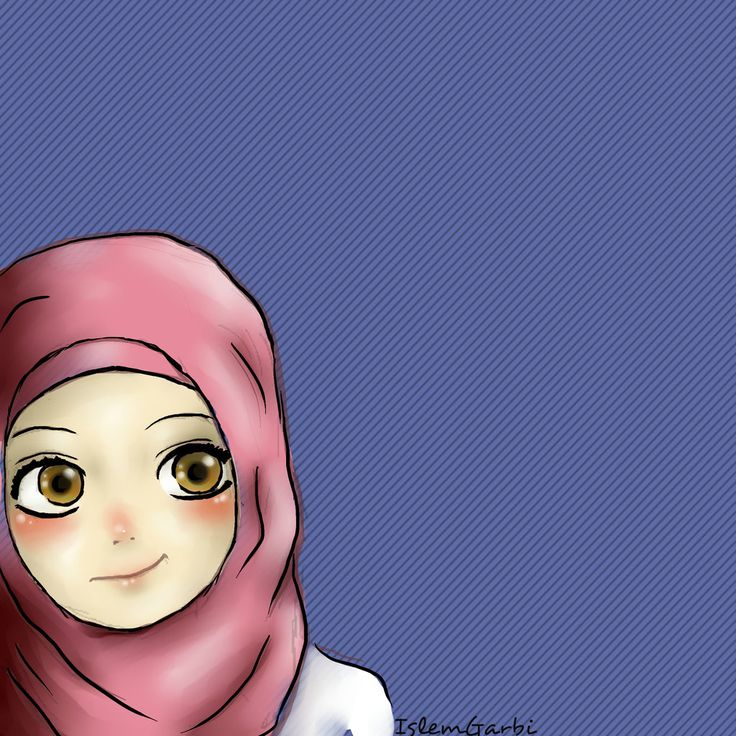 Hijab girl by isyislem.deviantart.com on @DeviantArt *Cherish the memories