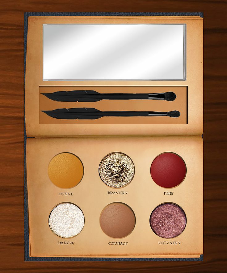 Someone Created a Mockup Harry Potter-Inspired Palette and the Internet Is Losing It from InStyle.com