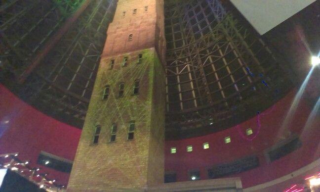 Light installation Melbn Central