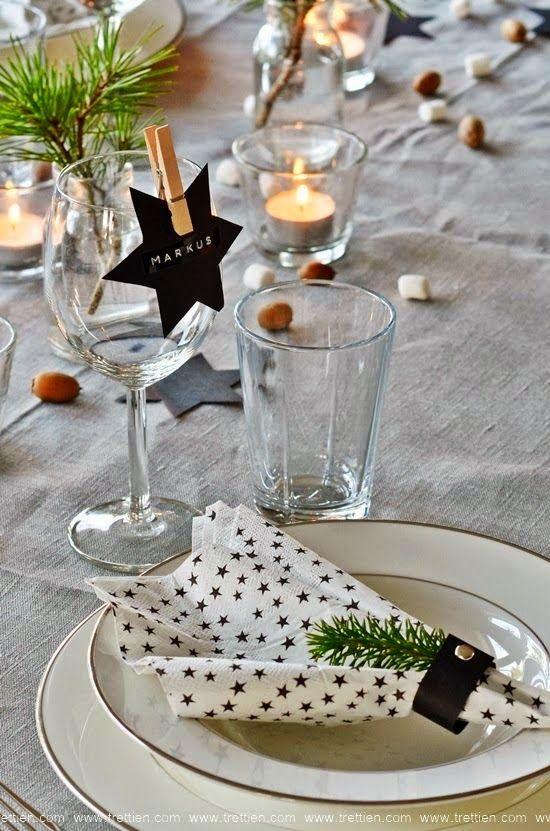 Inspiration til årets borddækning til juleaften
