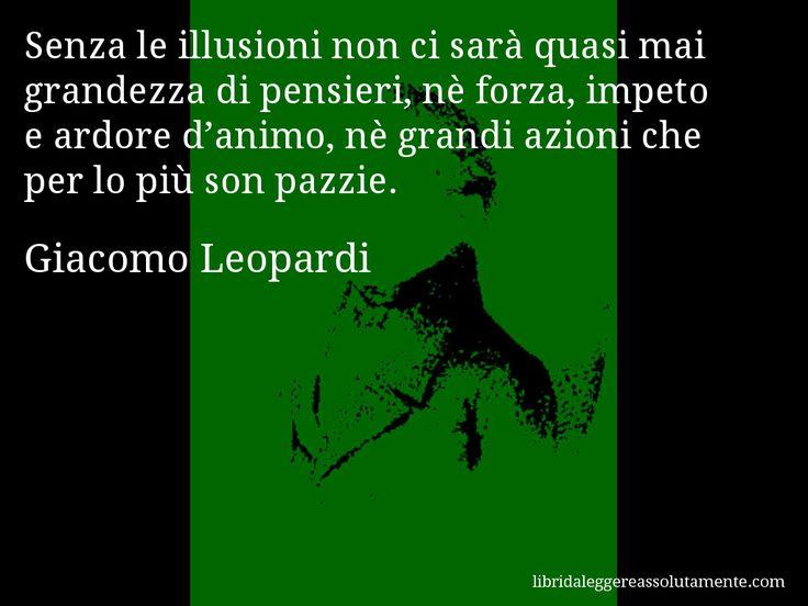 Cartolina con aforisma di Giacomo Leopardi (19)
