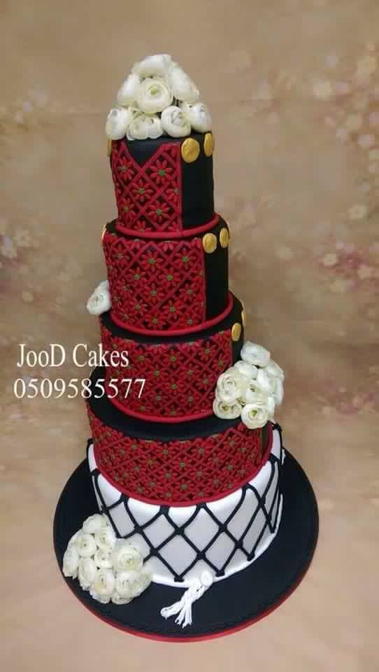 Palestinian wedding cake.. gorgeous!!