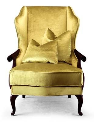 Christopher Guy #gold #chairGold Chairs, Armchairs Elegant, Wings Chairs, Guys Gold, Gold Furniture, Furniture Gold, Gold Armchairs, Christopher Guys, Upholstered Armchairs