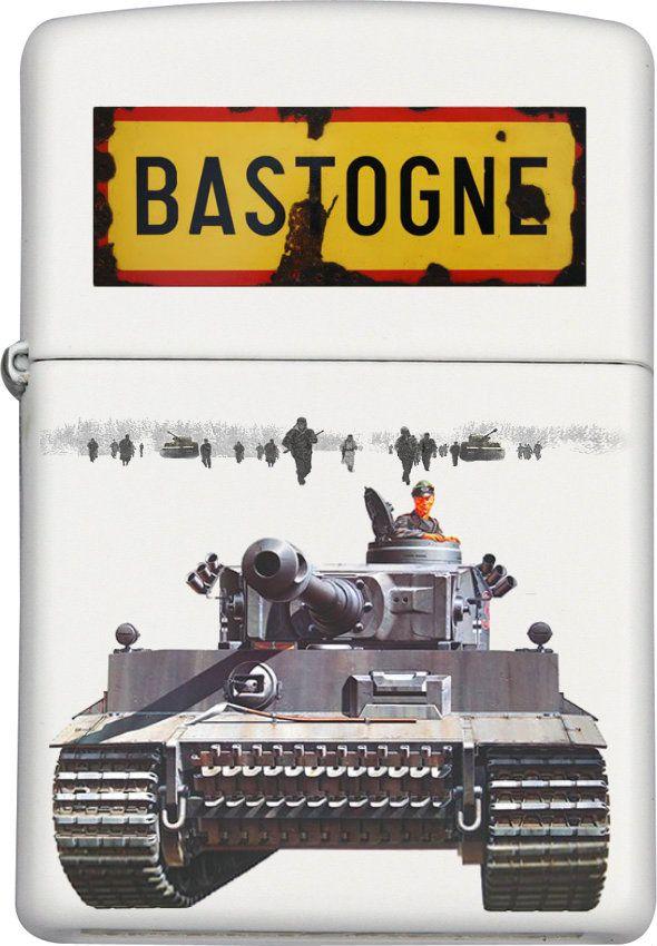 Tiger Tank Bastogne Custom Zippo design