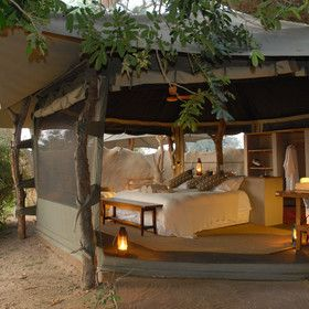 Octagonal Suite at Chongwe River Camp, Zambia