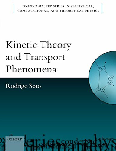 Kinetic Theory and Transport Phenomena (Oxford Master Series in Physics):   One of the questions about which humanity has often wondered is the arrow of time. Why does temporal evolution seem irreversible? That is, we often see objects break into pieces, but we never see them reconstitute spontaneously. This observation was first put into scientific terms by the so-called second law of thermodynamics: entropy never decreases. However, this law does not explain the origin of irreversibl...