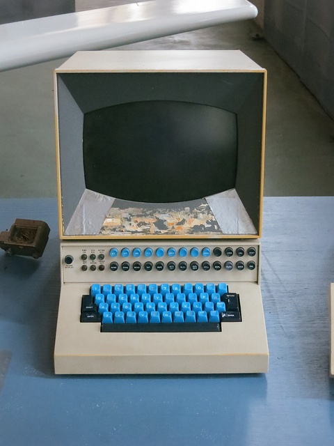 IBM Eastern Airlines Reservation Computer 1970s by ajmexico, via Flickr