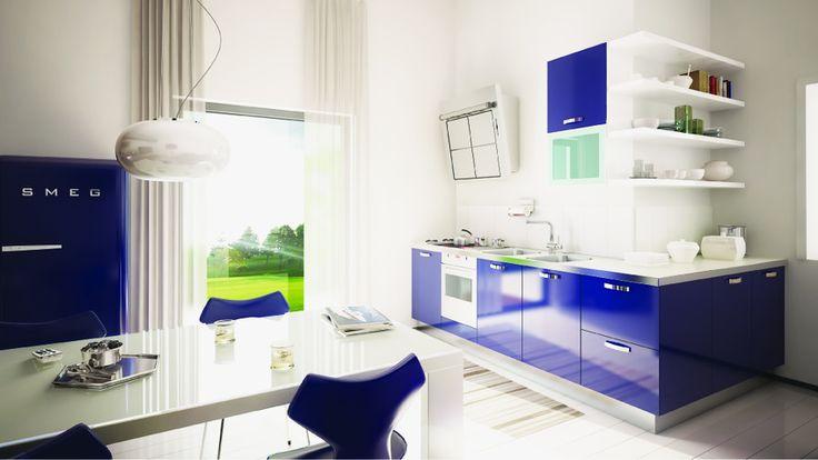 #Kitchen di #design per cucinare con freschezza #style #food #cucina - www.iuorioarredamenti.it