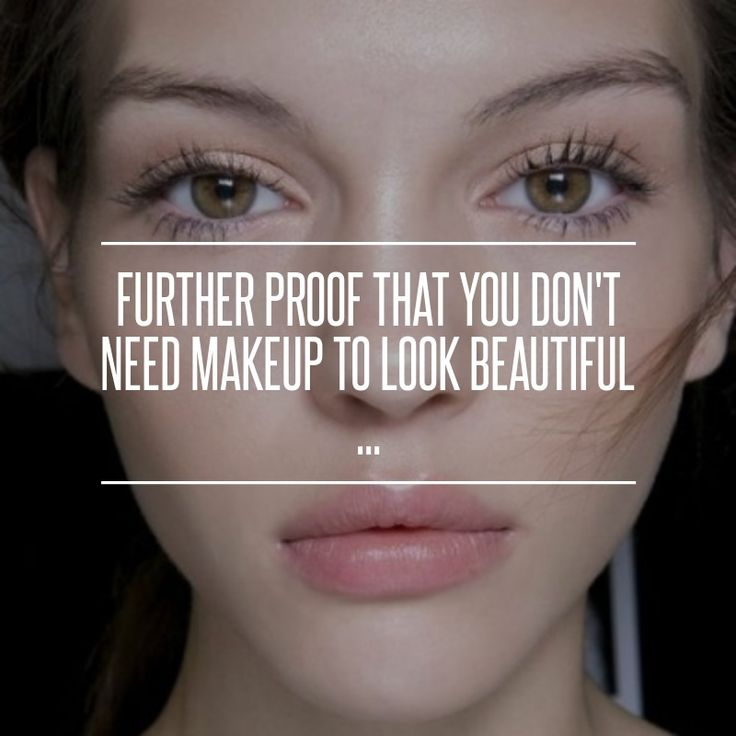 #Further Proof That You Don't Need Makeup to Look #Beautiful ... → #Beauty [ more at http://beauty.allwomenstalk.com ]  #Ives #Makeup #St #Berry #Camu