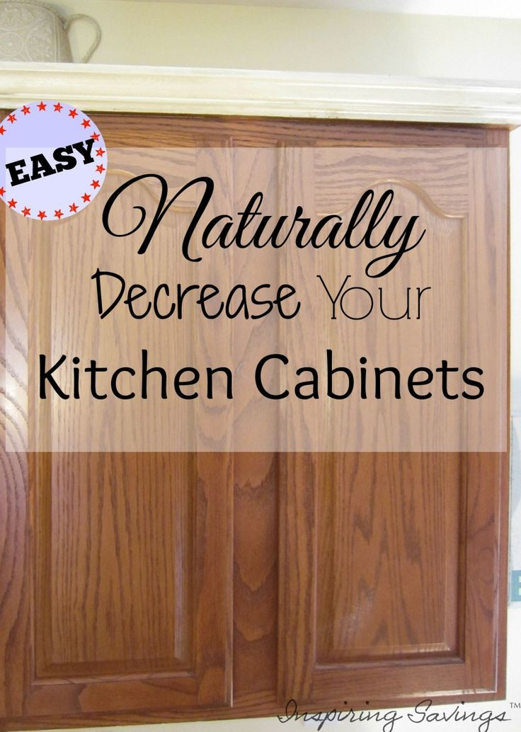 How degrease your kitchen cabinets all naturally for Easy to clean kitchen cabinets