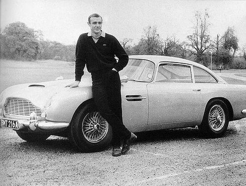 James bond & Aston martin db5 - car or Bond???  One of each please!