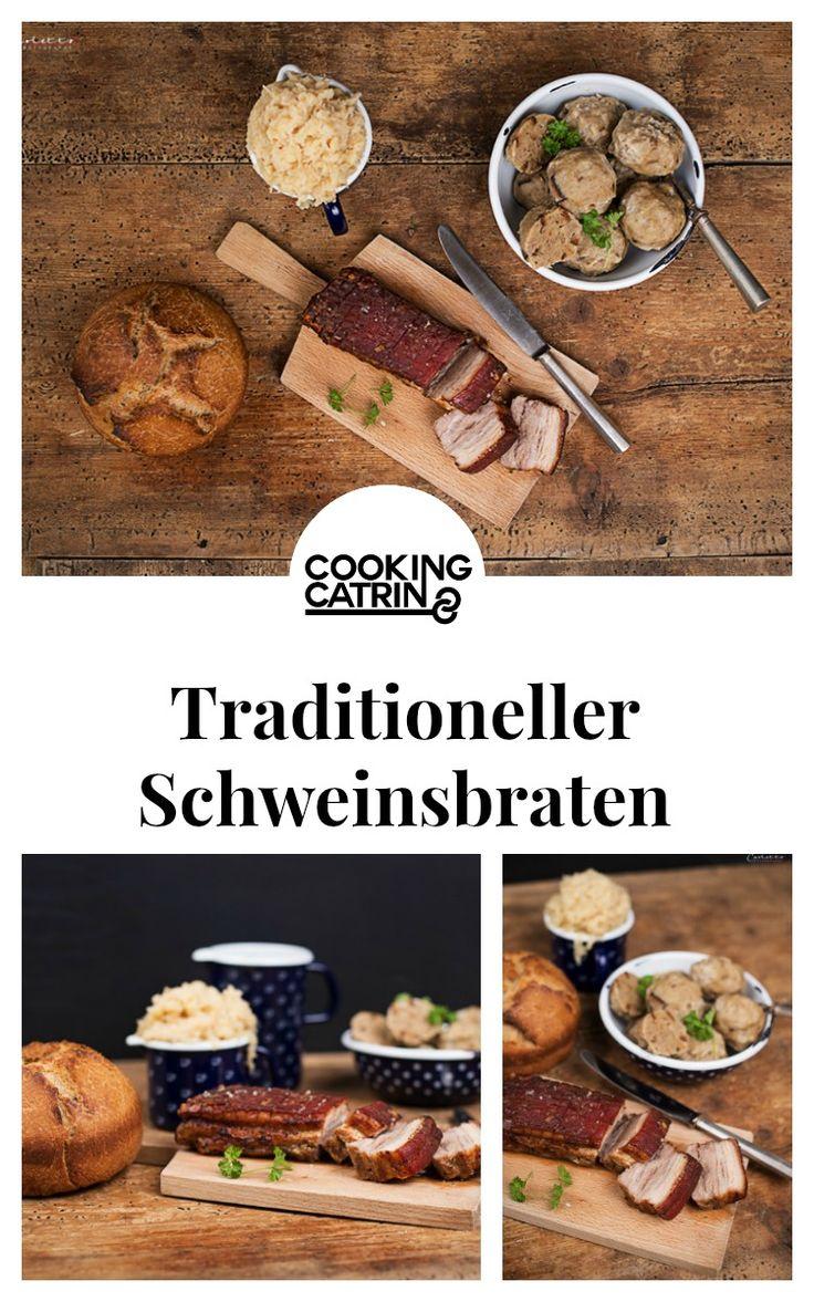 Schweinsbraten, Traditionsrezept, traditional recipe, meat loaf, traditional, traditionell, Rezept aus Österreich, recipe from austria, austrian recipe, dumplings, bread dumplings, honey crust roast, meat roast, roast, traditional roast, Braten, Honigkrusten Braten, Knödel, Schwarzbrotknödel...http://www.cookingcatrin.at/schweinsbraten-mit-honigglasur-und-schwarzbrotknoedeln/