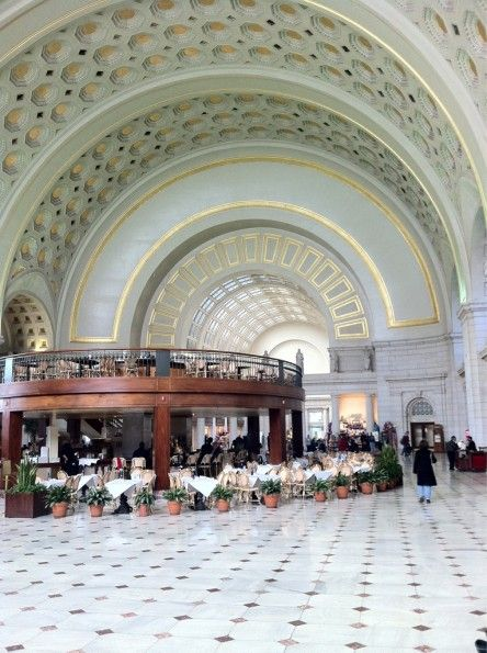 Washington DC Union Station. // Arquitecto Daniel Burnham, diseñó la Union Station de Washington D.C.