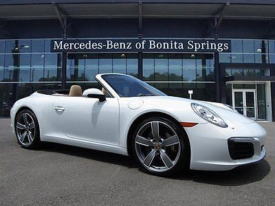 2017 Porsche 911 Carrera 2017 Porsche 911 Carrera White Twin Turbo Premium Unleaded H-6 3.0 L/182 Manual