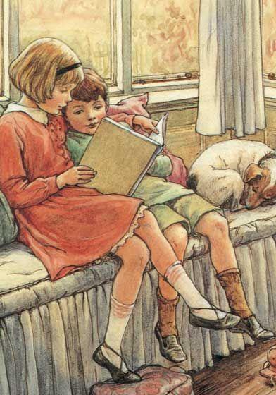 Cicely Mary Barker | reading