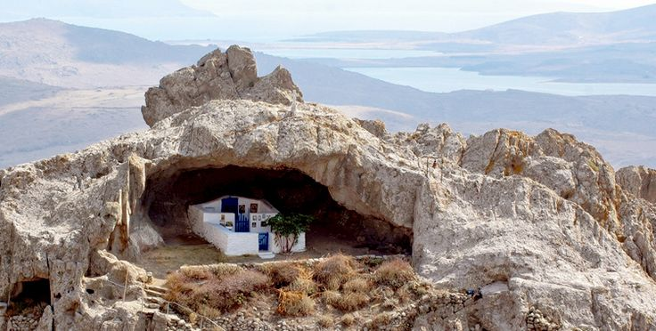 The church is devoted to Panagia Kakaviotissa (Mary of Kakavos) and is located at the top of the Kakavos mountain at Limnos island. It is the only roof-less church in the world. Its existence is know since 1305 when it became part of the nearest monastery. It was established by monks-anchorets during the Byzantine period.