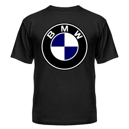 Мужская футболка BMW Магазин футболок