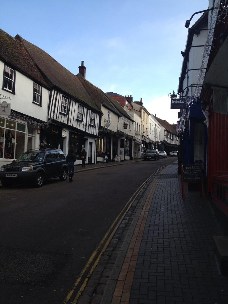 George street, St Albans, Herts, England
