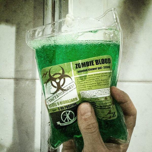 Żel pod prysznic - Zombie / Zombie gel.
