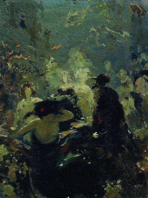 artishardgr:  Ilya Repin - Sadko in the Underwater Kingdom...