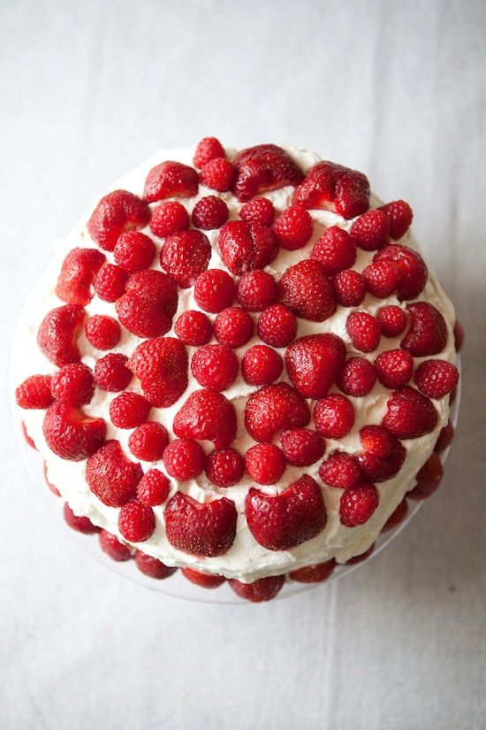 Blotkake Norwegian Orange Cream Cake