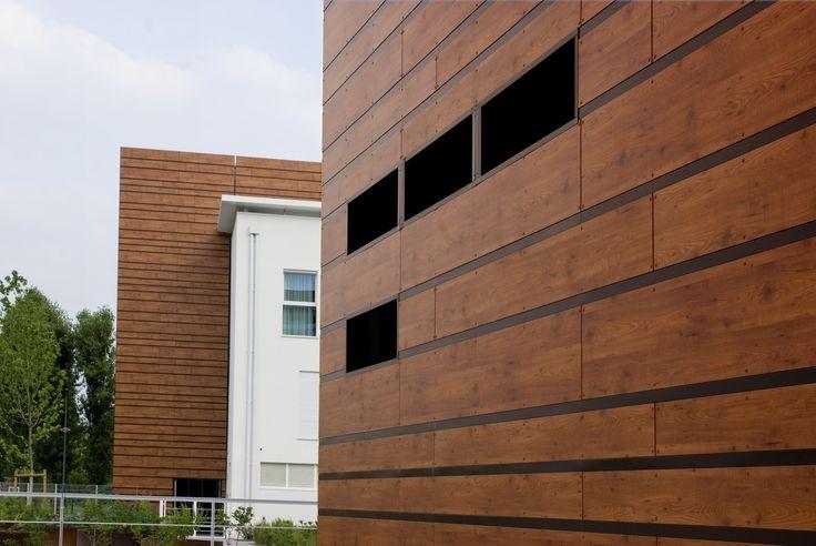 Ventilated facade Pannelli HPL per facciate ventilate by INPEK