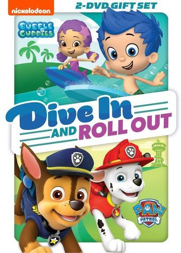 PAW Patrol/Bubble Guppies: Dive in and Roll Out [DVD]